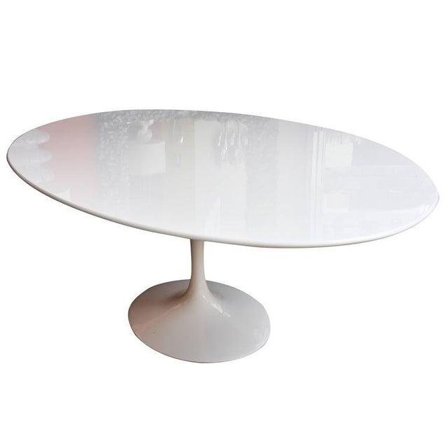Eero Saarinen for Knoll Oval Dining Table - Image 7 of 9