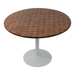 Mid-Century Modern Breakfast Table With Tulip Base