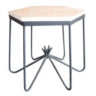 Jean Royere Attributed Hirondelle Style Side Table