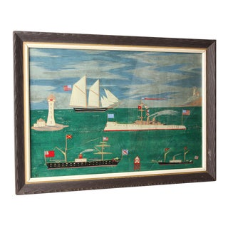 1946 Original Nautical Painting by Winslow Anderson