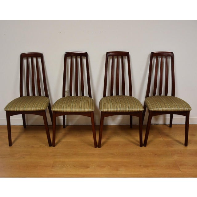 Image of Mid-Century Style Dining Chairs - Set of 4