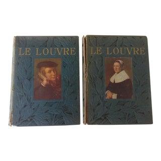 Le Musee du Louvre Books - A Pair
