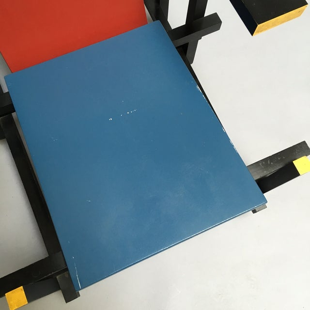 Image of The Red and Blue Chair by Gerrit Rietveld