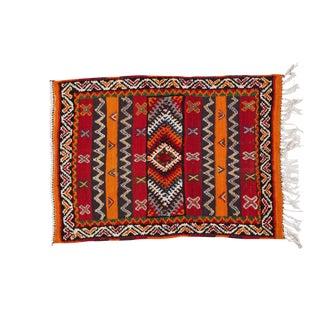 Small Moroccan Berber Rug - 2′3″ × 3′1″