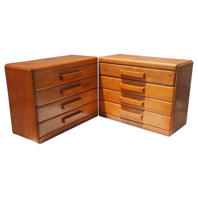 Russel Wright Chests of Drawers - A Pair - Image 1 of 5