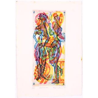 Conversation by Robert Lohman Print