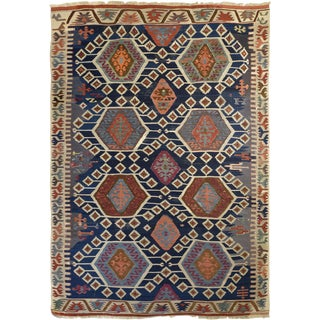 Antique Anatolian Kilim Rug
