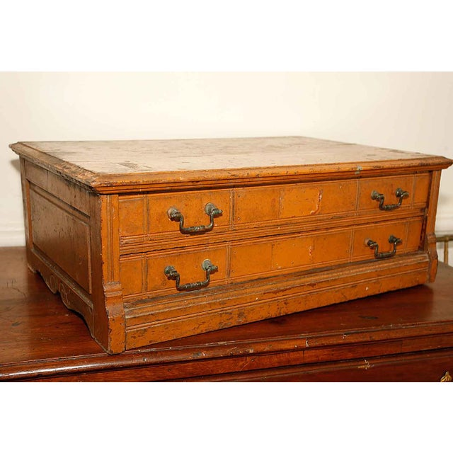 Image of Vintage Two Drawer Spool Cabinet
