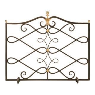 G. Poillerat Style Handmade Fire Screen