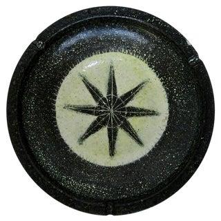 Spanish Rustic Ceramic Ashtray