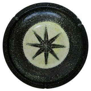Spanish Rustic Ceramic Ashtray