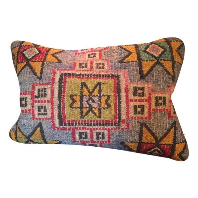 Image of Vintage Turkish Kilim Lumbar Pillow Cover