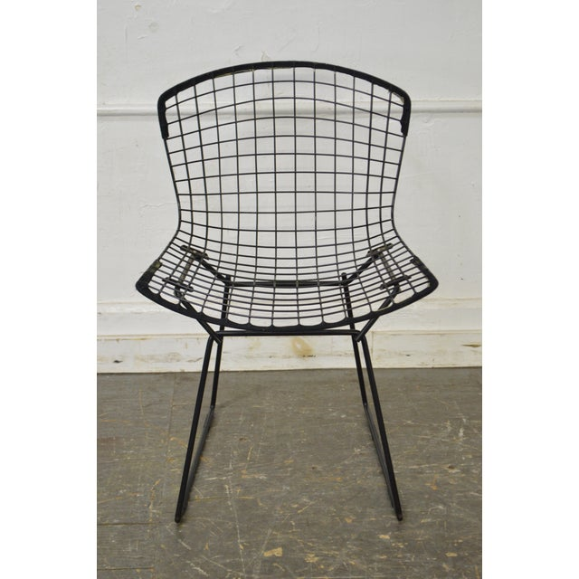 Bertoia for Knoll Mid Century Wire Side Dining Chairs - Set of 12 - Image 5 of 10