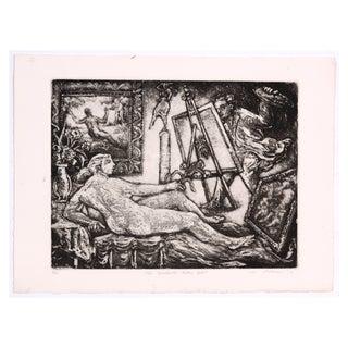 "R. Lohman ""The Artist"" 1978 Painting"