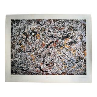 """1950 Jackson Pollock """"Mural"""" Lithograph"""