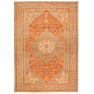 Exceptional Oversize Antique 19th Century Hadji Jalili Tabriz Carpet