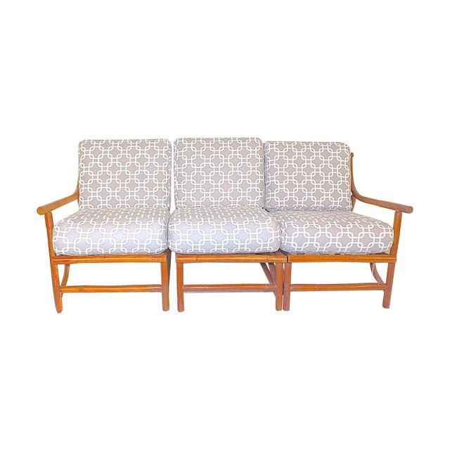 Ritts Tropitan Mid-Century Bamboo Sofa - Image 1 of 6