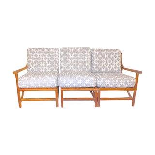 Ritts Tropitan Mid-Century Bamboo Sofa