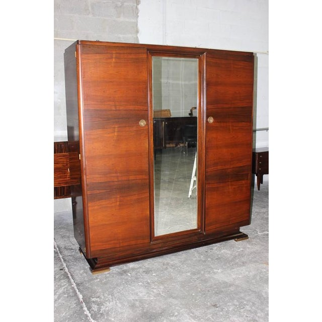 Image of Maxime Old French Art Deco Masterpiece Armoire