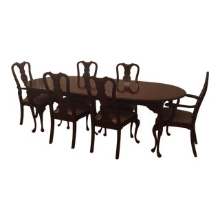 Hitchcock Co. Chippendale Style Dining Set