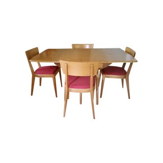Heywood Wakefield Dining Table & 4 Chairs