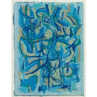 Female Blue I Painting by Heidi Lanino