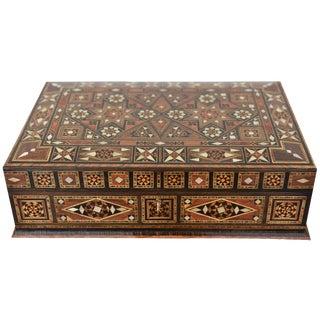 Wood Inlay Multipurpose Box