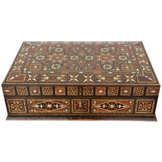 Wood Inlay Multipurpose Box