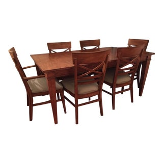 Ethan Allen Dining Table & Chairs