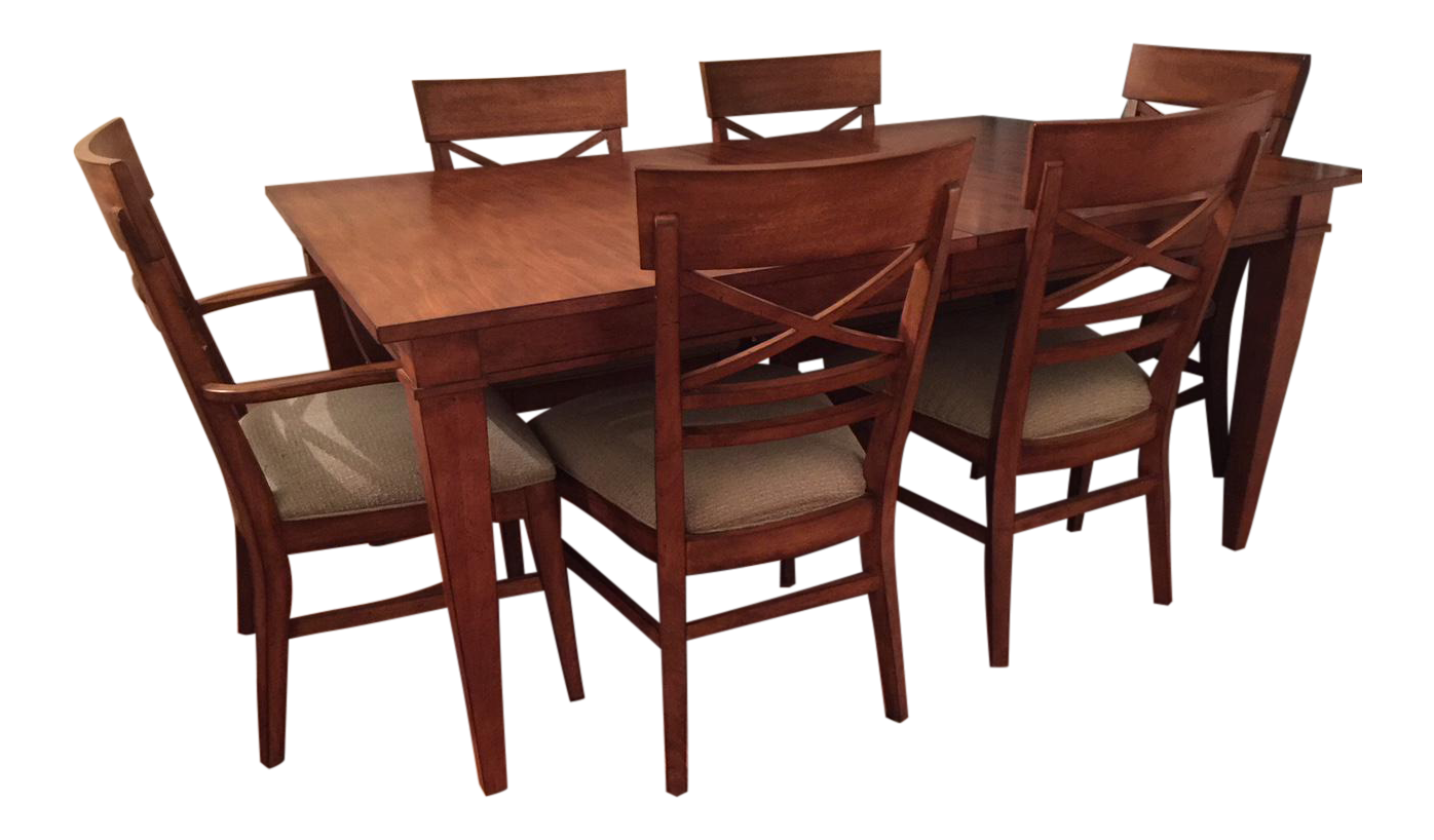 Ethan Allen Dining Table U0026 Chairs