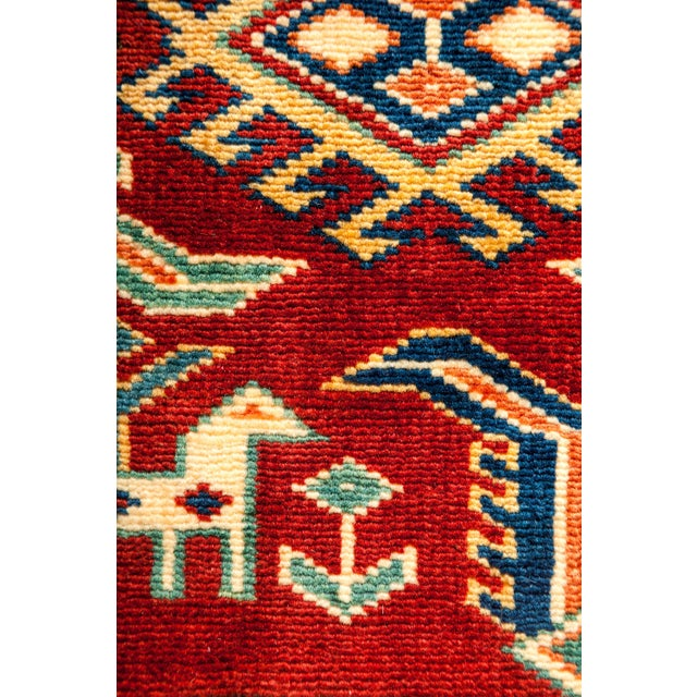 """New Traditional Hand Knotted Area Rug - 5'3"""" x 6'7"""" - Image 3 of 3"""