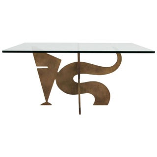 Light Bronze Coffee Table by Pucci De Rossi