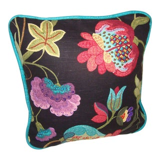 Floral Decorator Pillow