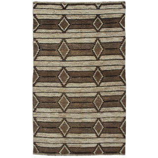 "Hand Knotted Navajo Rug - 8'10"" X 5'9"""