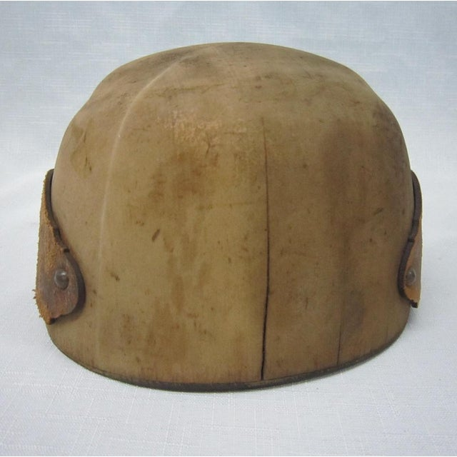 Image of Antique Wooden Hat Mold