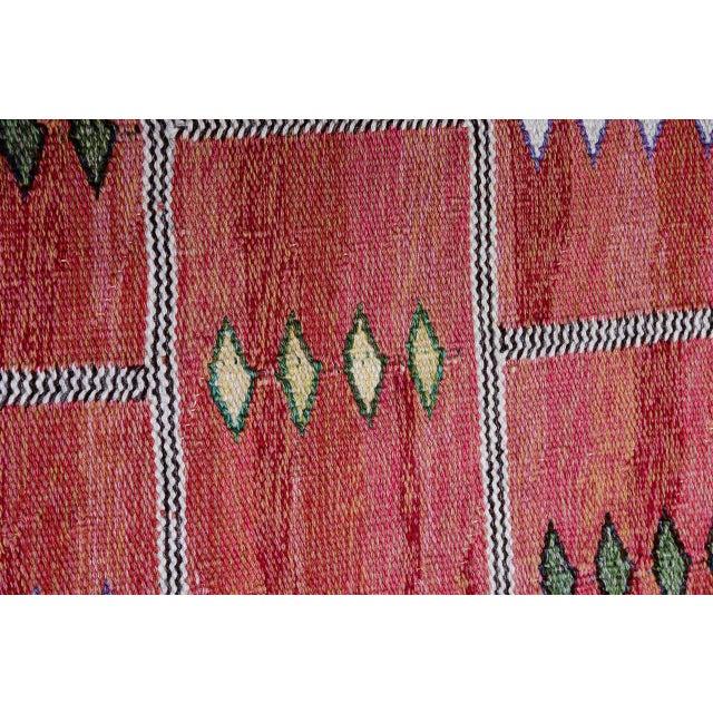 Vintage Carl Dagel Flat-Weave Swedish Carpet - Image 7 of 8