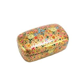 Petal Speckled Kashmiri Accent Box