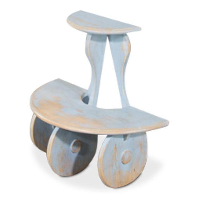 Sarreid Ltd Demilune Side Table - Image 2 of 5