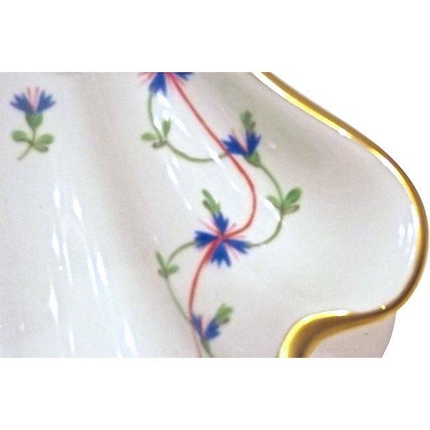 Vintage Herend Porcelain Fish & Shell Serving Tray - Image 8 of 9