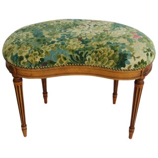 Italian Scalamandre Marly Fabric Bench