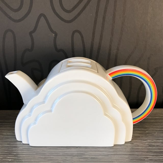 Japanese Cloud and Rainbow Teapot and Mug Set - Image 4 of 7