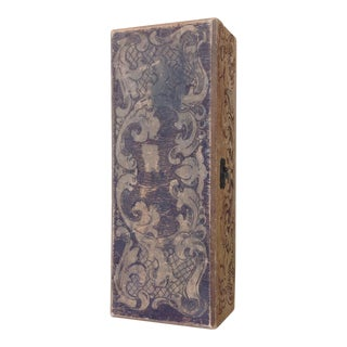 Antique Flemish Carved Wood Box