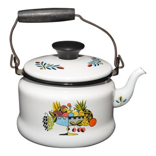 Georges Briard Ambrosia Enamel Tea Kettle
