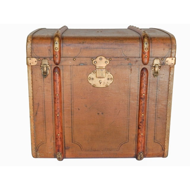 Image of Early 20th Century Polish Trunk