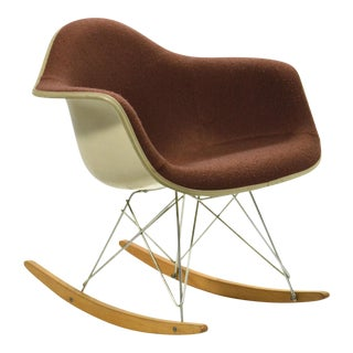 "Eames ""Baby Rocker"" Rar by Herman Miller with Alexander Girard Upholstery"