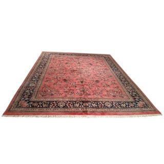 Traditional Knotted Rug - 11′ × 15′