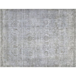 "Vintage Persian Overdyed Rug - 9'11"" x 13'"
