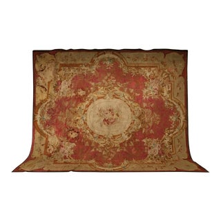 Palatial Original Antique French Aubusson Rug, circa 1830