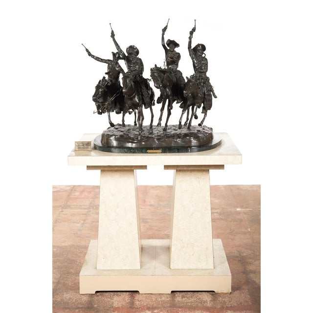 """F. Remington """"Coming Through the Rye"""" Bronze Sculpture - Image 3 of 11"""