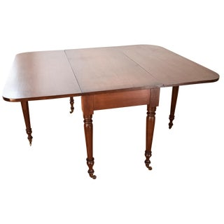 19th-C. Drop-Leaf Gate-Leg Dining Table